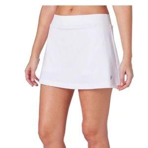 Land's End White Tennis Skirt Size 6